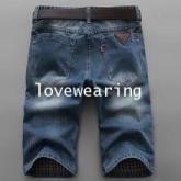 AM5909004 กางเกงลำลองชาย ขาสั้น สไตร์เกาหลี (พรีออเดอร์)รอสินค้า 3 อาทิตย์หลังชำระเงิน