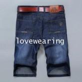 AM5709016 กางเกงลำลองชาย ขาสั้น สไตร์เกาหลี (พรีออเดอร์)รอสินค้า 3 อาทิตย์หลังชำระเงิน