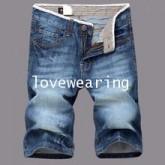 AM5910002 กางเกงยีนส์ชายขาสั้น แฟชั่นเกาหลี (พรีออเดอร์) รอ 3 อาทิตย์หลังชำระเงิน
