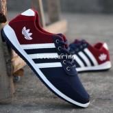 XB6003001 รองเท้าผ้าใบแฟชั่นเกาหลี ผู้ชาย  (พรีออเดอร์) รอ 3 อาทิตย์หลังโอนเงิน
