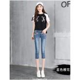 SW5709006 เสื้อยีนส์ คอจีน แขนยาว กระดุมหน้า แฟชั่นสาวเกาหลี (พรีออเดอร์) รอ 3 อาทิตย์หลังชำระเงิน