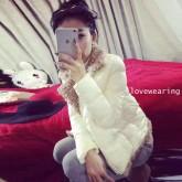 CW6010011เสื้อโค้ทเสื้อคลุมกันหนาวเกาหลีสไตร์เสื้อแจ็กเก็ตสั้น(พรีออเดอร์)