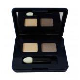 ESTEE LAUDER Pure Color EyeShadow 60 Sugar Biscuit SATIN อาแชโดว์ดูโอ้ 2 สี ในโทนสีเย็น ๆ