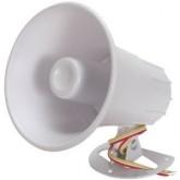 Housing Material 12VDC 120dB ,ABS Siren ( White )
