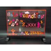 กระดานเรืองแสง(LED Writing Board) กว้าง 23 x ยาว 43 ซม