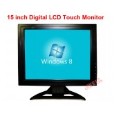 LCD Monitor 15 inch AV/BNC/PC/TV/Audio/Touch Specification พร้อมอุปกรณ์ รับประกัน 1ปี