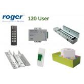Roger Access Control Outdoor พร้อมอุปกรณ์ประตู ชุดโปรโมชั่น