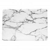 เคส Macbook ลายหินอ่อน สำหรับเครื่อง Macbook Pro 15(รุ่นเก่า) - White Marble