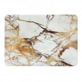เคส Macbook ลายหินอ่อน สำหรับเครื่อง Macbook 12 inch - Gold Marble