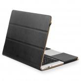 กระเป๋าหนัง QIALINO สำหรับเครื่อง macbook Pro Retina 13 inch - Black