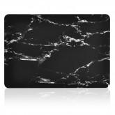 เคส Macbook ลายหินอ่อน สำหรับเครื่อง Macbook Pro 13  (รุ่นเก่า แบบมีที่ใส่ซีดี) - Black Marble