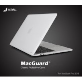 JCPAL Ultra thin Case for Macbook Pro 15 inch with touchbar - Matte Clear