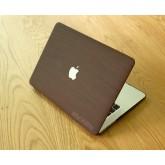 เคส Macbook ลายไม้ Red Brown wood grain สำหรับเครื่อง Macbook pro 15 with touchbar