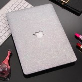 เคส Macbook กากเพชร สีเงิน สำหรับเครื่อง Macbook Pro 15 with and without touchbar