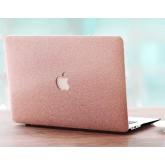 เคส Macbook กากเพชร สีชมพู สำหรับเครื่อง Macbook Air 13