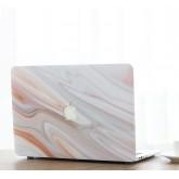 เคส Macbook ลายหินอ่อนเจาะโลโก้ Marble sunset สำหรับเครื่อง Macbook Air 13