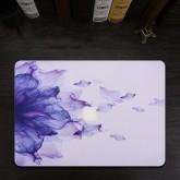 เคส Macbook ลาย Purple Flower สำหรับเครื่อง Macbook Air 13