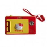 ของเล่นกล้องดิจิตอล Hello Kitty สีแดงเหลือง