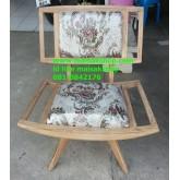เฟอร์นิเจอร์ไม้สัก(Furniture) เก้าอี้ไม้สักหุ้มเบาะ
