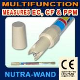 มิเตอร์วัดระดับสารอาหารน้ำยา AB สำหรับปลูกผักไฮโดรโพนิคส์ รุ่น ECS-23852 ทรงคทา ใช้งานง่าย