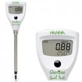 เครื่องวัดความเค็มดิน (EC ในดิน) ช่วงค่า 0.00-4.00 mS (dS/m) ยี่ห้อ Hanna รุ่น HI98331