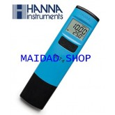 เครื่องวัด EC (ปุ๋ยเอบี) ยี่ห้อ Hanna สำหรับปลูกผักไฮโดรโปนิคส์ 19.99mS ฟรี!น้ำยาสอบเทียบ