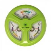 เครื่องวัดดิน 3in1 ใช้วัดค่า pH ดิน, ความชื้นดิน, ความเข้มแสง UV แสดงค่าพร้อมกันบนหน้าปัดเดียว