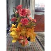 การจัดดอกไม้