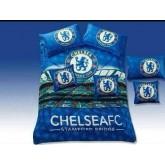 ชุดผ้าปูที่นอนพร้อมผ้าห่มนวม ลายทีมฟุตบอล