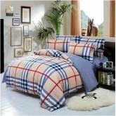 ชุดผ้าปูที่นอนพร้อมผ้าห่มนวม ลายสก๊อต