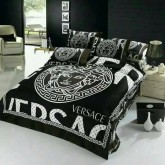 ชุดผ้าปูที่นอนพร้อมผ้าห่มนวม versace