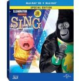 Sing (3D+2D Steekbook) ร้องจริง เสียงจริง (บลูเรย์ 3 มิติ + 2 มิติ +กล่องเหล็ก) S16312RFS