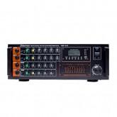 มิกซ์เซอร์แอมป์ 240W EQ USB BT AMP-242