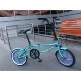 จักรยานพับ Neo Bike เฟรมเหล็ก สีเขียว วงล้อ 16