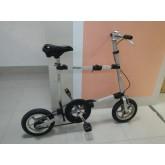 จักรยานพับขนาดจิ๋ว เบาเบา วงล้อ12 ½ ล้อแม็กซ์  ระบบสายพานแทนโซ่ รุ่น Micro Bike