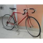 จักรยานเสือหมอบ วินเทจ สับถัง เฟรมโครโมลี่สีแดง บริดสโตน รุ่น EURASIA