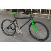 จักรยาน เสือภูเขาเฟรมคาร์บอน รุ่นเบรกผีเสื้อ ชุดเกียร์ DeoreLX
