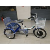 จักรยานสามล้อไฟฟ้า Panther  แบบมีที่ซ้อนด้านหลัง