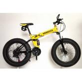 จักรยาน ล้อโต fatbike พับได้ ยี่ห้อ HOSQUICK
