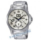 นาฬิกาข้อมือ SEIKO PREMIER Kinetic Perpettual Men\'s Watch รุ่น SNP057P1