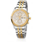 Citizen Quartz Womens Oversized Chronograph Stainless Model FA1044-51A