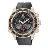 นาฬิกาข้อมือ CITIZEN Eco-Drive Promaster Chronograph World Time Men\'s Watch รุ่น JR4046-03E