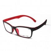กรอบแว่นสายตาพร้อมเลนส์ PLASTA P1 BLACK/RED