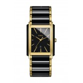 Rado Integral Two-tone Black Ceramic and Gold Mens Watch - R20968152(212.0968.3.015)