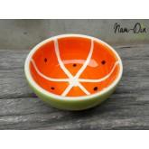 ถ้วยลายส้ม ขนาด 5นิ้ว