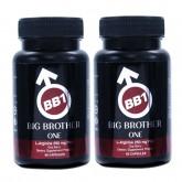 BB1 BIG BROTHER บีบี วัน บิ๊ก บราเดอร์ส บรรจุ 60 แคปซูล (2 ขวด)