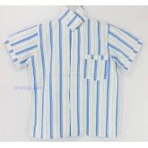 ชุดนอนเด็กชาย ไซส์ 7-9 แขนสั้น ขายาว ผ้าคัตต้อน (คอปก) กลุ่มลายสก๊อต,ริ้ว คลิกดูลายเพิ่มเติม