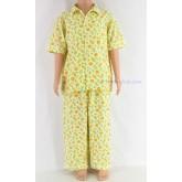 ชุดนอนเด็กชาย ไซส์ 3-4 แขนสั้น ขายาว ผ้ายืด (คอปก กระดุมผ่าหน้า) คลิกดูลายเพิ่มเติม