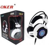 OKER Vibration Hi-Fi stereo headphone Gaming Headset รุ่น X94(สีขาว/ดำ)