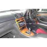 DVD GPS Bluetooth สำหรับ Mercedes Benz W203/208/209/W163